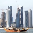 Doha skyline 2012 — Stock Photo