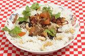香羔羊 biryani 咖喱 — 图库照片