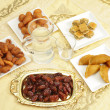 Foto Stock: Iftar table
