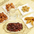 Stock Photo: Iftar table