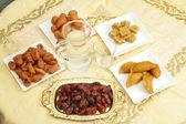 Iftar tabell — Stockfoto