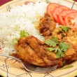 Kashmiri chicken — Stock Photo