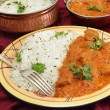 Rogan josh meal — Stock Photo
