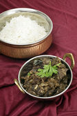 Kerala mutton liver fry vertical — Foto Stock