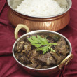 Stock Photo: Mutton liver fry vertical