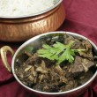 Kerala mutton liver fry horizontal — Stock Photo