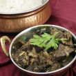 Kerala mutton liver fry horizontal — Stock Photo #33420755