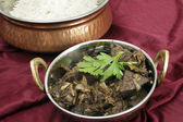 Kerala mutton liver fry horizontal — Foto Stock