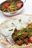 Lahore style lamb curry vertical — Stock Photo