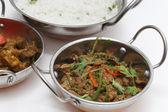 Lamb curry night — Stock Photo