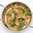 Balti chicken pasanda in a kadai bowl — Foto Stock