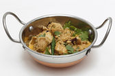 Chicken pasanda curry serving bowl — Stock Photo