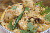Pasanda chicken curry closeup — Stock Photo