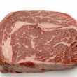Stock Photo: Wagyu ribeye high angle