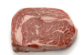 Wagyu ribeye high angle — Stock Photo