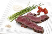Wagyu ribeye beef meal — Stock Photo