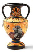 Reproduction Hellenistic amphora souvenir — Stock Photo