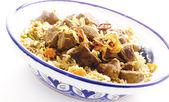 High key saudi kabsa bowl — Stock Photo