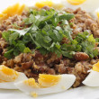Egyptian foul with boiled eggs — Stock Photo #37075659