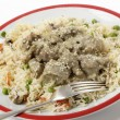 Stock Photo: Lamb kormwith veg pilau