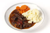British beef stew — Stock Photo