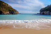 Paleokastritsa beach — Stock Photo