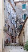 Corfu alley — Stock Photo
