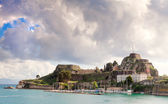 Old Citadel or Fortress in Corfu Town — Stock Photo