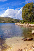 Scenic Kassiopi on Corfu — Stockfoto