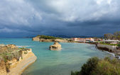 Storm clouds over Sideri — Stock Photo