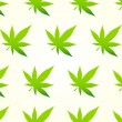 Stock Vector: MarijuanSeamless Pattern