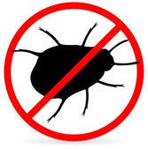 No bugs — Stock Vector
