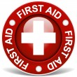 Stock Vector: First Aid Sign