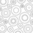 Gears Background, Pattern — Image vectorielle