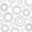 Stock Vector: Gears Background, Pattern