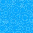 Gears Background, Pattern — Imagen vectorial