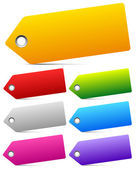 Empty labels, tags — Stock Vector