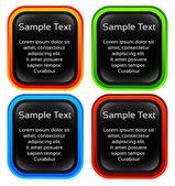 Label, tag design elements — Stock Vector