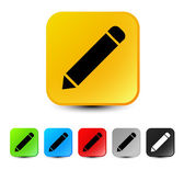 Pencil Icon set — Stock Vector