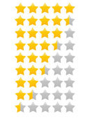 Yellow star(s) vector illustration - single star icon, star rating vector illustration — Stock Vector