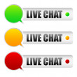 Live chat — Stock Vector #50572151