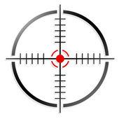 Crosshair, reticle — Stock Vector