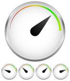 Dial template — Stock Vector