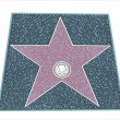 Walk Of Fame Type Star - Image vectorielle