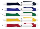 设置多彩笔的插图 — 图库矢量图片