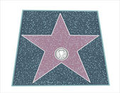 Walk Of Fame Type Star — Stock Vector