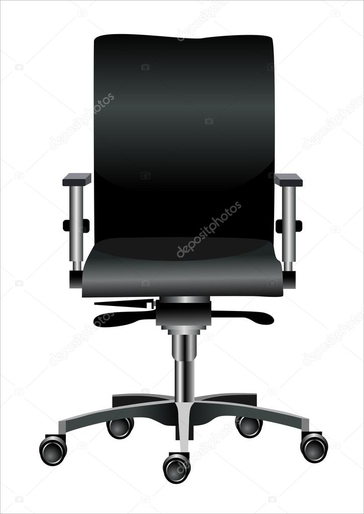 Office chair isolated on white  Stock Vector #14527147