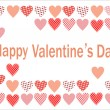 Royalty-Free Stock Vektorov obrzek: Vector postcard for Valentine\'s Day