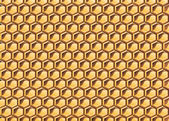 Honeycomb — Vector de stock