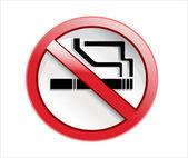 Do not smoke sign — Stock Vector